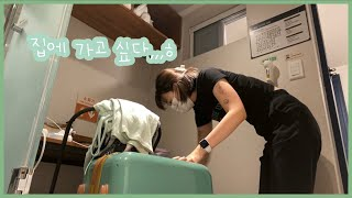 [vlog] 강남 고시원 입성기 브이로그ㅣ좀벌레랑 하이…