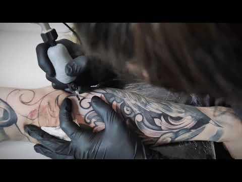 Tattoo Timelapse - Filigree by Lil B