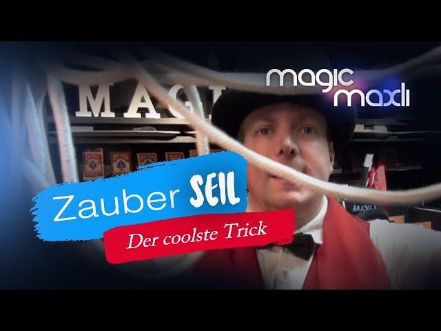 Beliebtester Zaubertrick mit dem Zauberseil