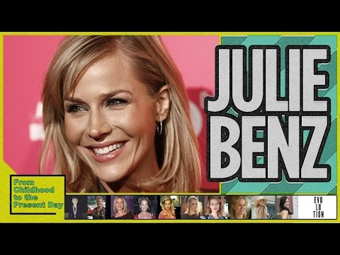 Julie Benz Evolution