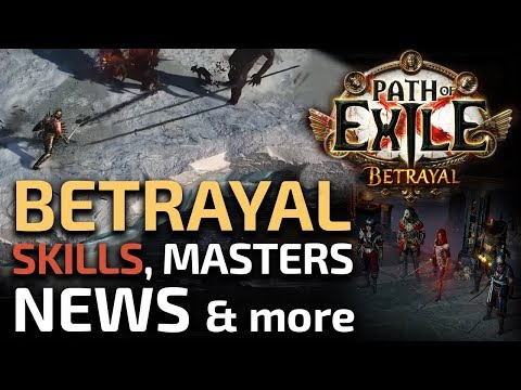 BETRAYAL News - New skills, items and hideouts, Masters rework - RaizQT first look