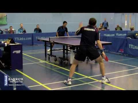 Paul Drinkhall vs. Wang Zheng (British League Tabl...