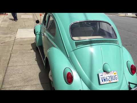Original-Owner 1962 Volkswagen Beetle