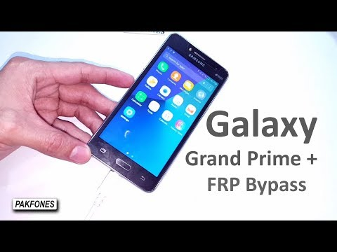 Samsung Galaxy Grand Prime Plus Google Account Bypass Android 6.0.1