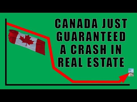 Canada Just GUARANTEED a MASSIVE CRASH in Canadian Real Estate Market!