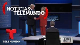 En Vivo: Primer debate presidencial entre Hillary Clinton y Donald Trump (9/26/2016)