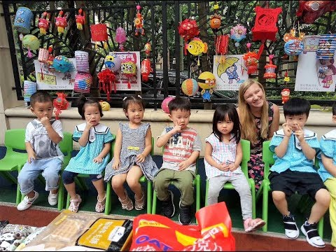 A DAY IN THE LIFE: Teaching English at a Kindergarten in China