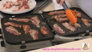 Cooking Breakfast on the Cuisinart Griddler GR-4N - Test & Review