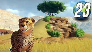 Planet Zoo Franchise - Part 23 - CHEETAH EXHIBIT!
