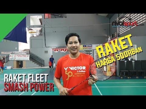 [REVIEW] Raket Fleet Smash Power - RIVAISPORT