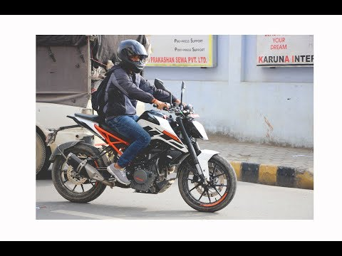 First ride impressions - 2017 KTM Duke 250!! | Nepal