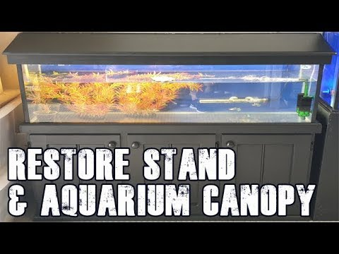 How To: Restore Aquarium Stand And Canopy (Aquarium Restoration)