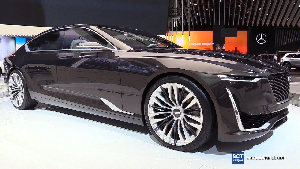 2018 Cadillac Escala Concept - Exterior Walkaround - 2017 ...