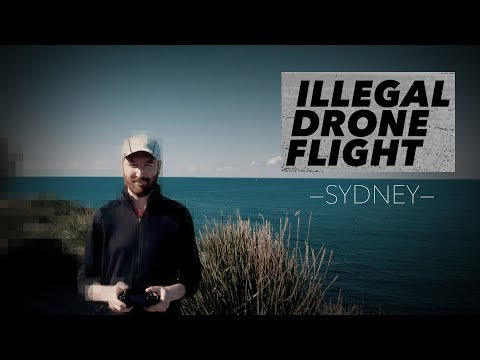 Illegal Drone Flight in Sydney, Australia | Hey.film podcast