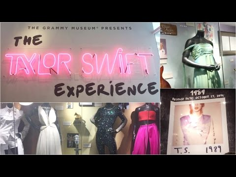 The Taylor Swift Experience ♡ Grammy Museum NYC