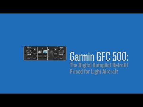 Garmin GFC 500: The Digital Autopilot Retrofit Priced for