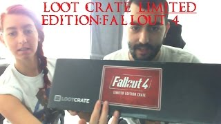 Loot Crate Unboxing Limited Edition : Fallout 4