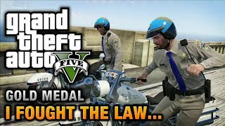 GTA 5 - Mission #41 - I Fought the Law... [100% Gold Medal Walkthrough] thumbnail