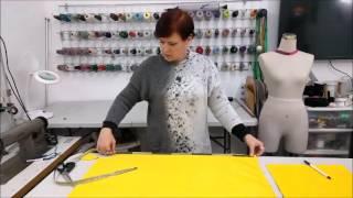 איך תופרים גלימה לפורים/How to sew a fast cape