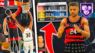 2HYPE'S FIRST GAME! Can ZackTTG hit the GAME WINNER? 2HYPE NBA 2K20 REBUILD #1