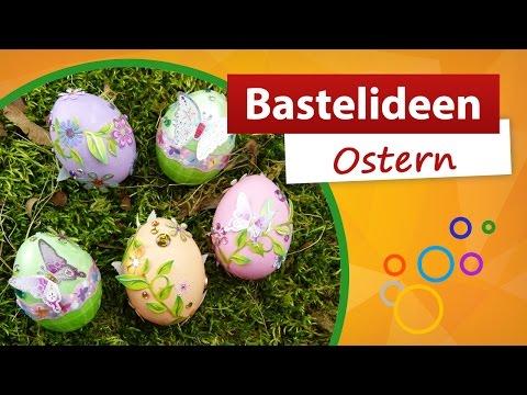 Osterdeko basteln ostereier mit zeitungspapier und federn diy deko kitchen funnydog tv - Deko kitchen ostern ...