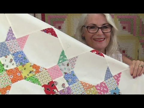 How to Sew a Quilt with Diagonal Rows