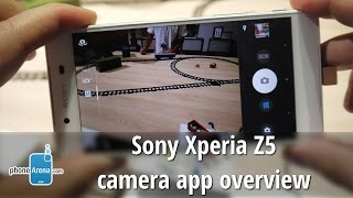 Sony Xperia Z5 camera app and UI overview