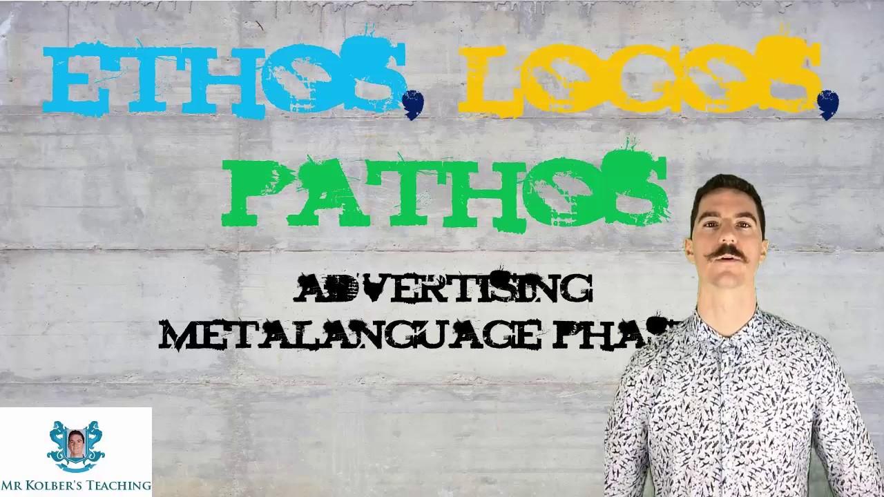 Advertising Metalanguage Phase 1: Ethos, Pathos, Logos - YouTube