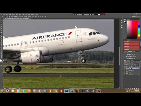 How to edit Aviation Photography