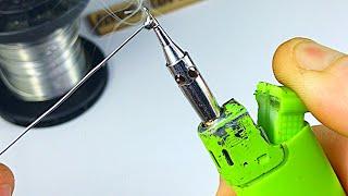 MAKE SOLDERING IRON by Lighter