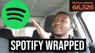 Reacting To My Spotify Wrapped 2018 (Favorite Songs & Artists of The Year!)