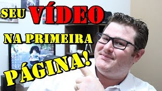 Gambar cover Como Colocar seu Vídeo na PRIMEIRA PÁGINA do YOUTUBE (SEO) - Wesley Pereira