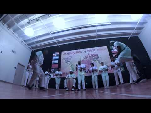 Multicultural festival in Oaklawn Language Academy with International Capoeira Charlotte - NC