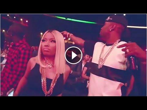 Nicki Minaj and Safaree dancing Dancehall