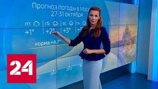 """""""Погода 24"""": репетиция зимы - Россия 24"""
