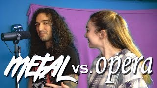 Metal and opera singer give each other a voice lesson