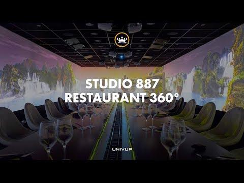 360 Immersive Restaurant [Video Mapping]