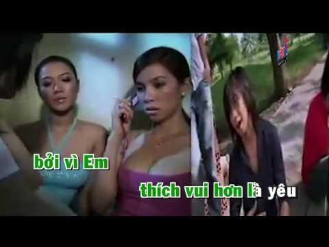 Giọt Nước Mắt Chảy Ngược Karaoke HD - MBK