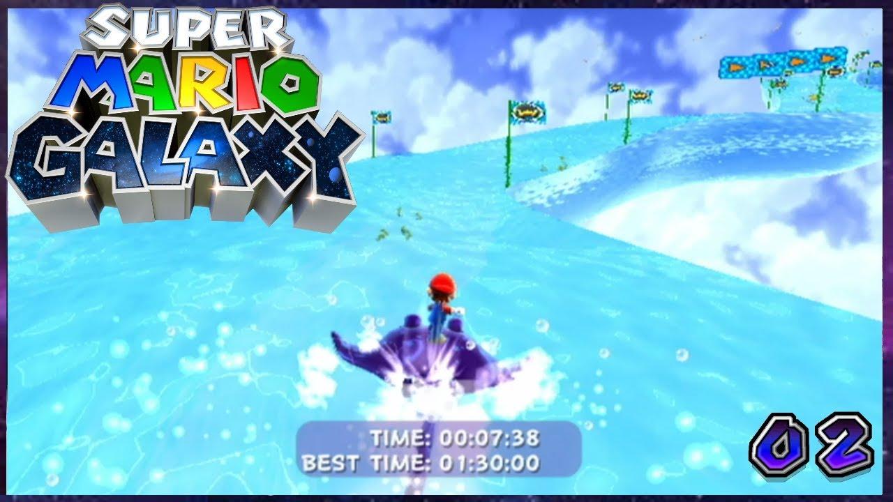 Super Mario Galaxy 120 Star Walkthrough | Episode 2 - YouTube