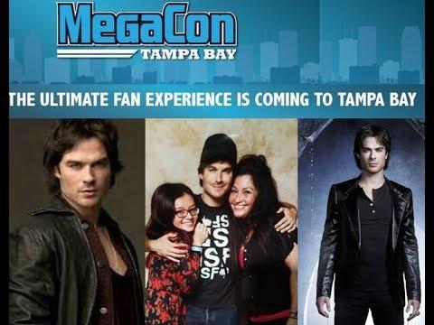 MegaCon Tampa Bay September 30, 2017 - Meeting Ian Somerhalder / Damon Salvatore, Vampire Diaries