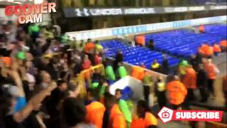 Arsenal Fans Singing 49, 49 Undefeated at White Hart Lane