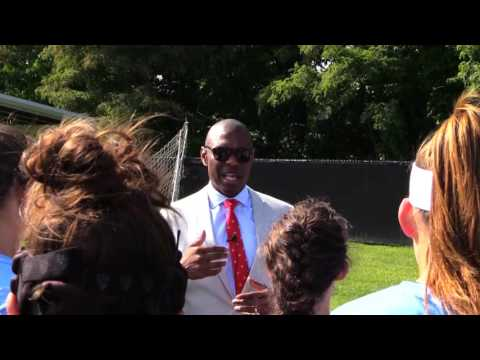 Dr. Chris Howard Gives Pregame Speech