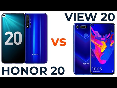 Honor 20 Vs Honor View 20. Сравнение!👍