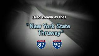 The 496-mile Mainline - 1954: The Construction of the New York State Thruway