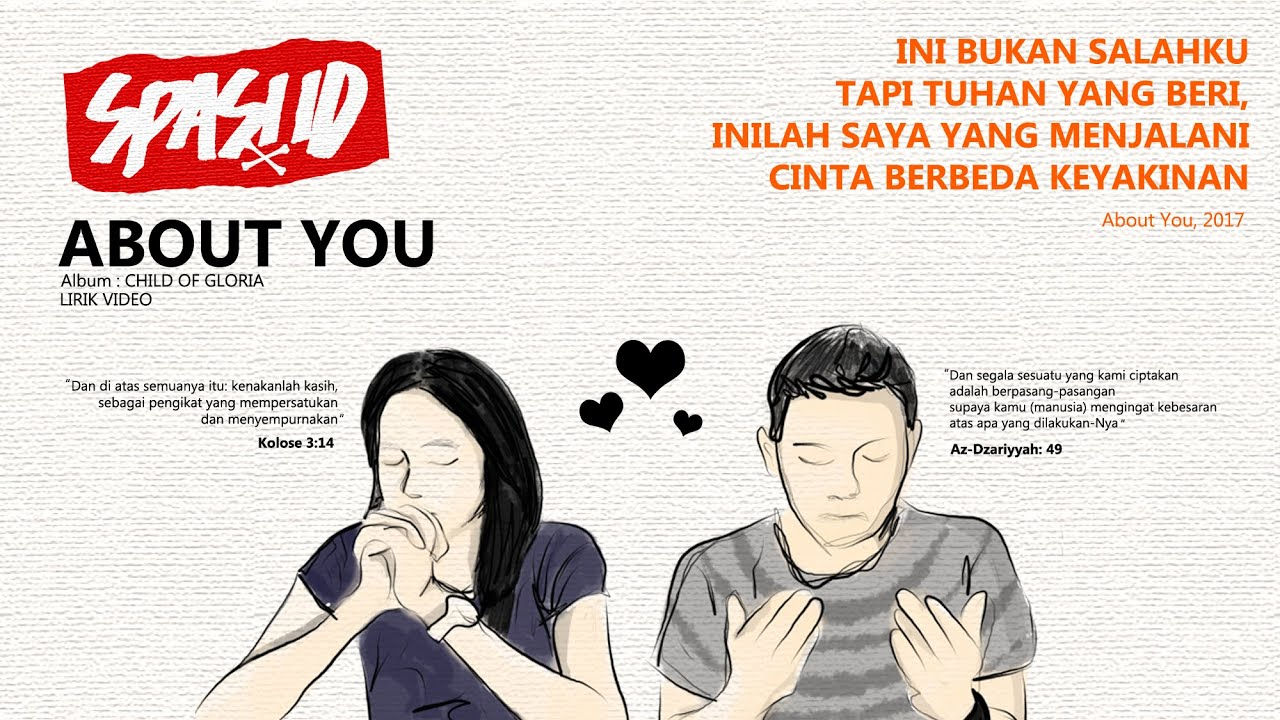 ABOUT YOU || Cinta Beda Agama SPASI ID Pop Punk Indonesia