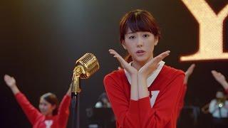 桐谷美玲、ふてニャンと「ヤングマン」ダンス披露 キュートすぎる「Y」ポーズも 「ワイモバイル」新CM