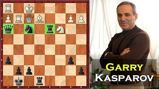 14 Year Old Garry Kasparov Plays One Of His Best Games Ever