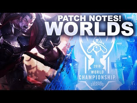 WORLDS PATCH IS HERE! WHY A DARIUS BUFF? | League of Legends thumbnail