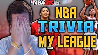 NBA TRIVIA!!! MY LEAGUE TRADE EDITION!!! NBA 2K16 MY LEAGUE