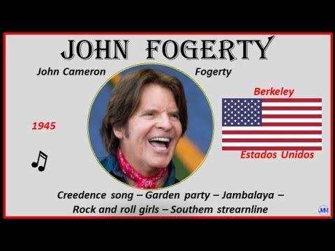 John Fogerty (1945) Berkeley (USA) Creedence Song-Garden Party-Jambalaya-Rock And Roll Girls